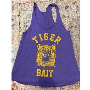 Judith March, Tiger Bait tank!